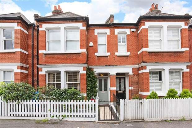 2 Bedrooms Terraced House for sale in Aysgarth Road, Dulwich