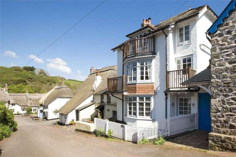 4 Bedrooms Terraced House for sale in Hope Cove, Hope Cove, Kingsbridge, Devon, TQ7