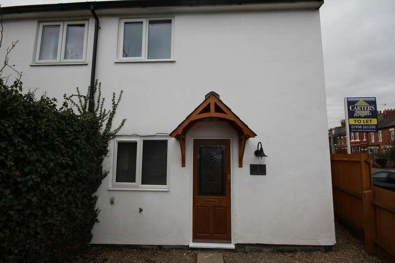 2 Bedrooms Semi Detached House for rent in STONY STRATFORD - AVAILABLE 14/04/18