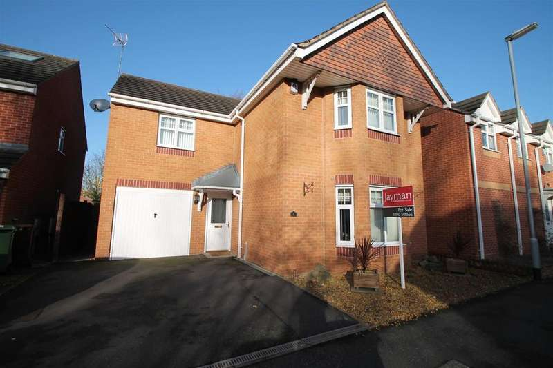 4 Bedrooms Detached House for sale in Richardson Way, Rugeley