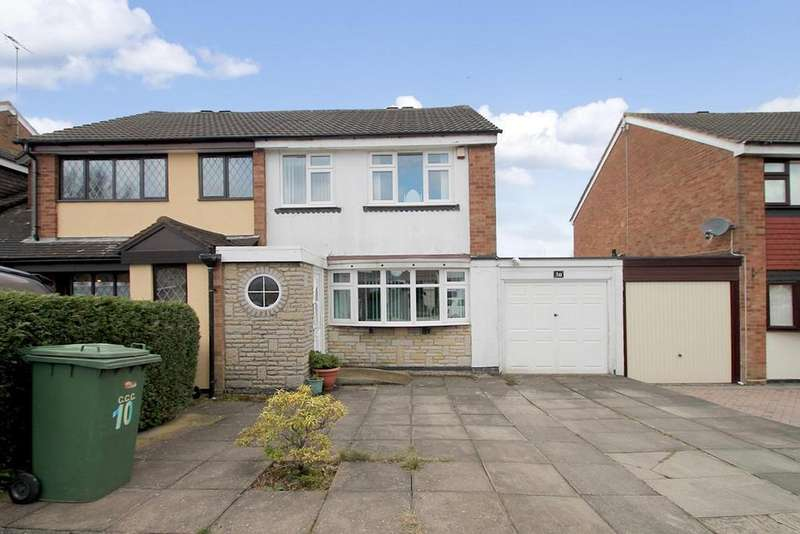 3 Bedrooms Semi Detached House for sale in Copperkins Road, Hednesford, Cannock