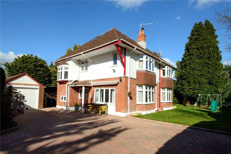 5 Bedrooms Detached House for sale in Nelson Road, Bournemouth, Dorset, BH4