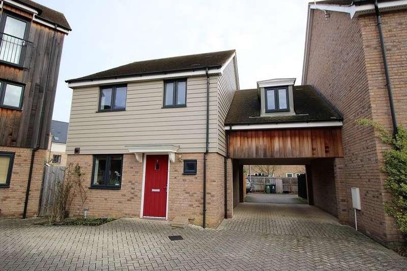 3 Bedrooms Link Detached House for sale in Rosehip Road, Orchard Park