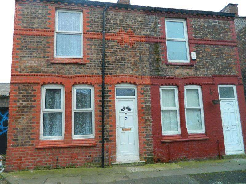 2 Bedrooms End Of Terrace House for sale in 3 Smollett Street, Bootle
