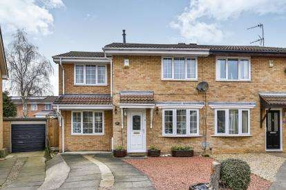 3 Bedrooms Semi Detached House for sale in Monkside Close, Washington, Tyne and Wear, NE38