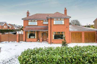 4 Bedrooms Detached House for sale in Newland Drive, Over Hulton, Bolton, Greater Manchester, BL5