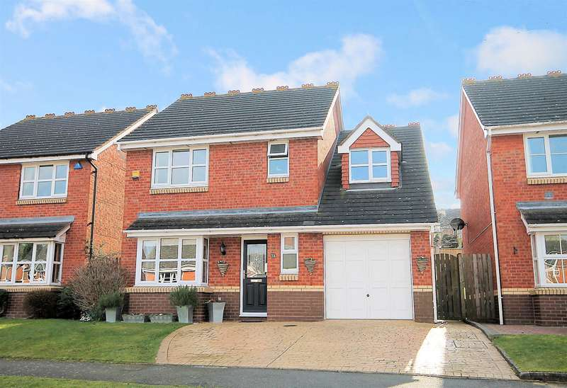4 Bedrooms Detached House for sale in Middlesmoor, Wilnecote, Tamworth, B77 4PL