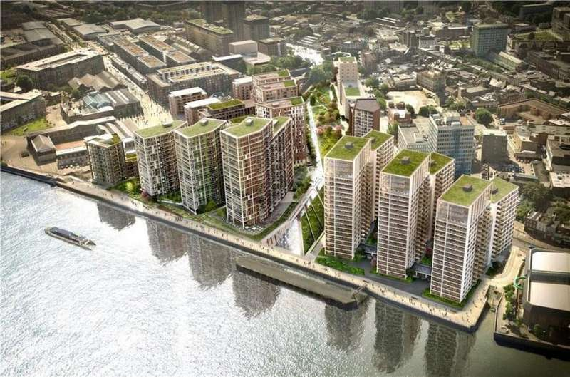 2 Bedrooms Flat for sale in Waterfront 2, Royal Arsenal Riverside SE18