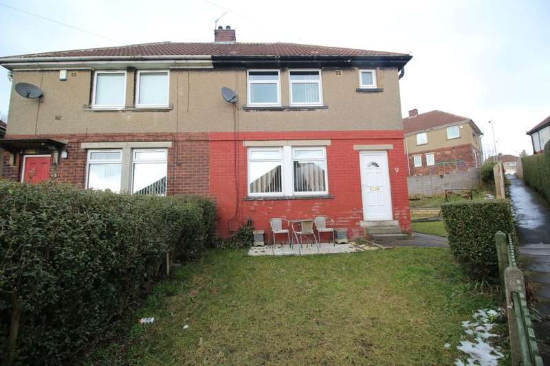 3 Bedrooms Semi Detached House for rent in Shirley Place, Wyke, Bradford, BD12