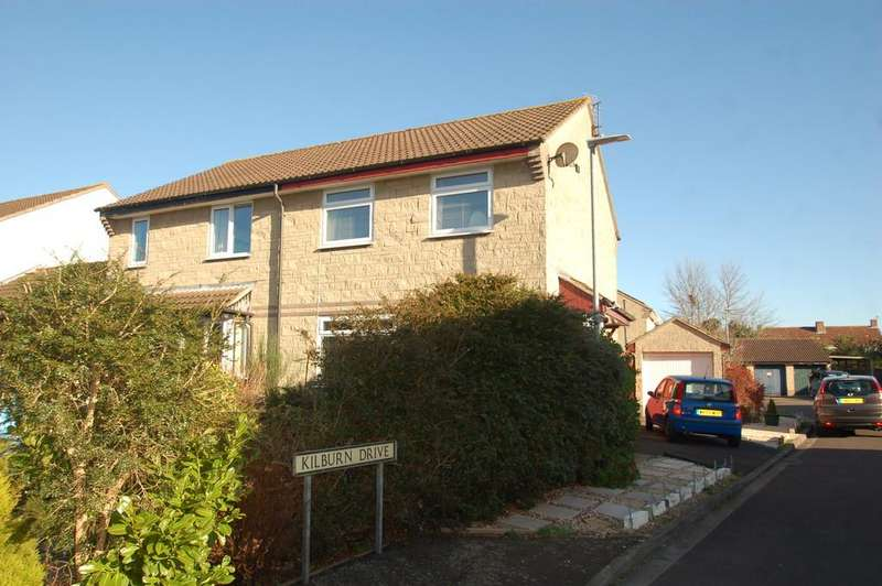 3 Bedrooms Semi Detached House for sale in Kilburn Drive, Bridgwater
