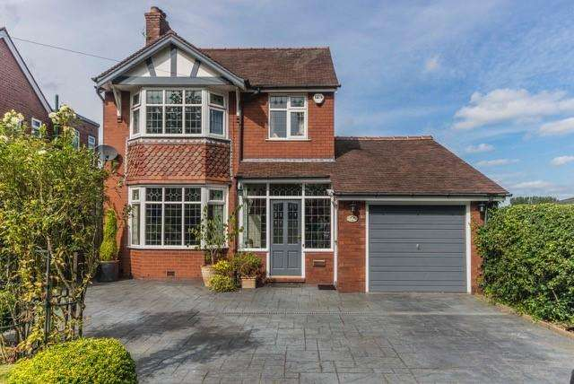 3 Bedrooms Detached House for sale in HIGHER POYNTON (COPPICE ROAD)