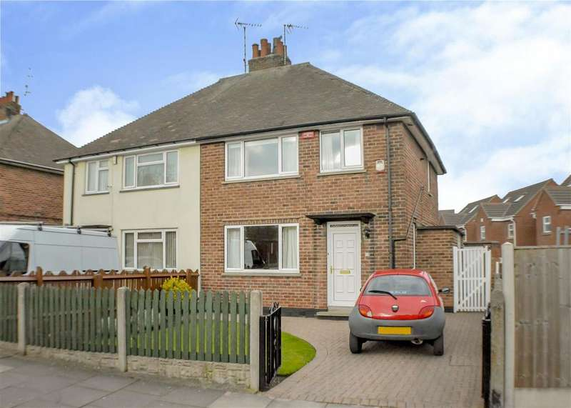 3 Bedrooms Semi Detached House for sale in Stanton Place, Mansfield