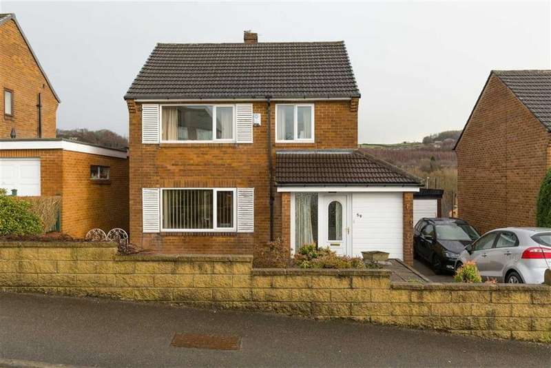 3 Bedrooms Detached House for sale in Mountfield Avenue, Waterloo, Huddersfield, HD5