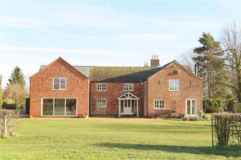5 Bedrooms Detached House for rent in Gradeley Green, Nantwich, CW5