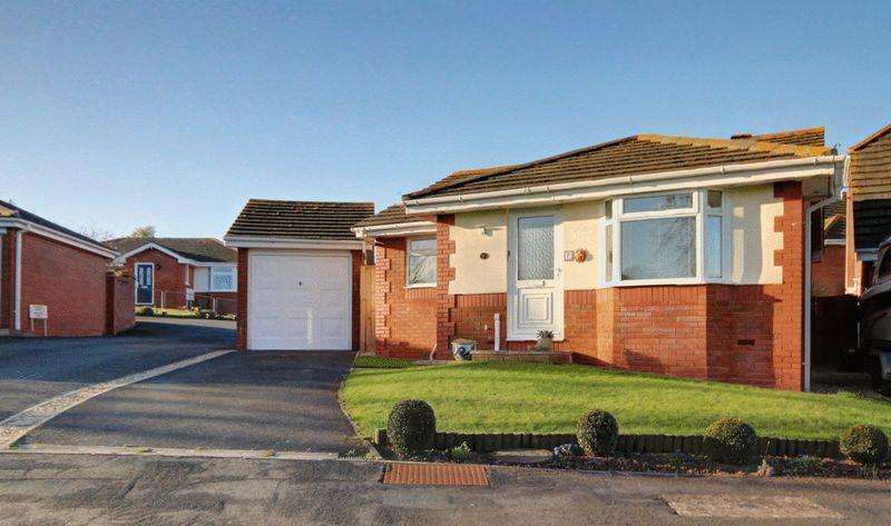 2 Bedrooms Detached Bungalow for sale in Royal Close, Exeter