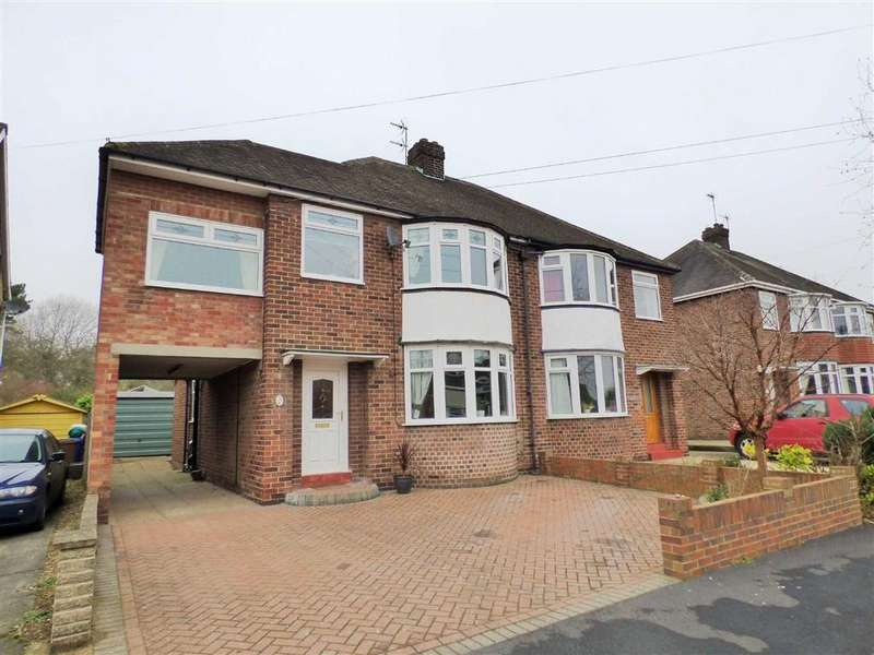 4 Bedrooms Semi Detached House for sale in Jefferson Drive, Brough
