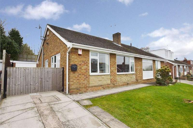2 Bedrooms Semi Detached Bungalow for sale in Cherry Tree Crescent, Walton, Wakefield, West Yorkshire