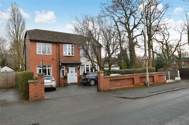 5 Bedrooms Detached House for sale in Bramhall Lane, Davenport, Stockport, Cheshire
