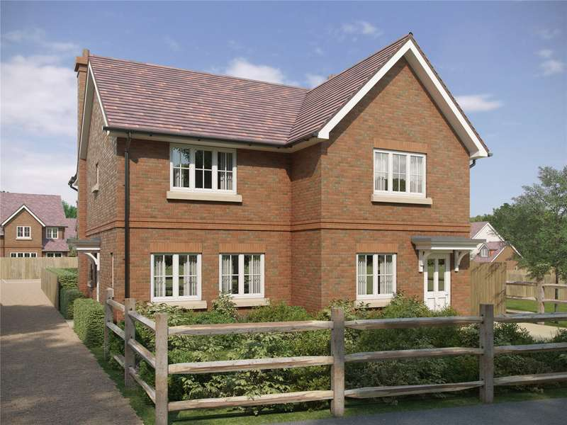 2 Bedrooms Semi Detached House for sale in The Paddocks, Warnford Road, Corhampton, SO32
