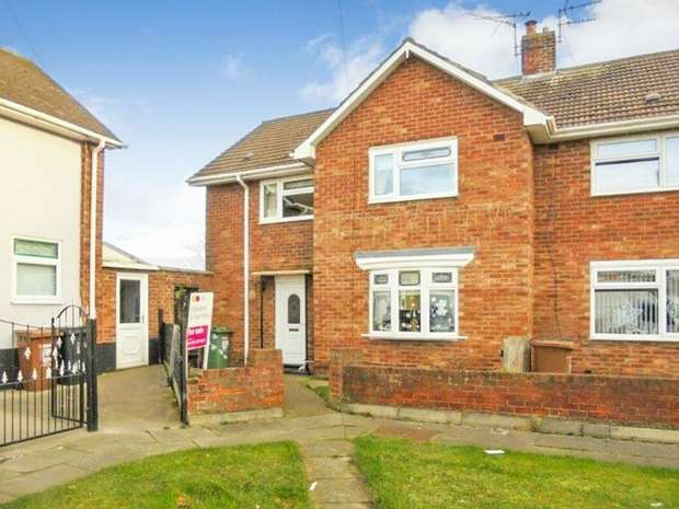 3 Bedrooms End Of Terrace House for sale in Esk Grove, Hartlepool, Durham