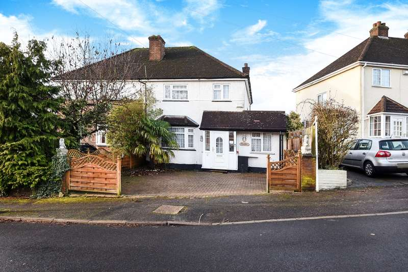4 Bedrooms Semi Detached House for sale in Lincoln Road, Northwood