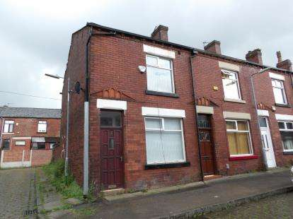 2 Bedrooms End Of Terrace House for sale in Chapman Street, Heaton, Bolton, Greater Manchester, BL1