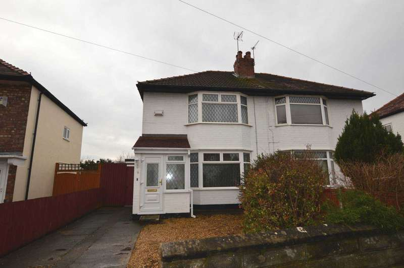 2 Bedrooms Semi Detached House for rent in Glenburn Avenue, Wirral