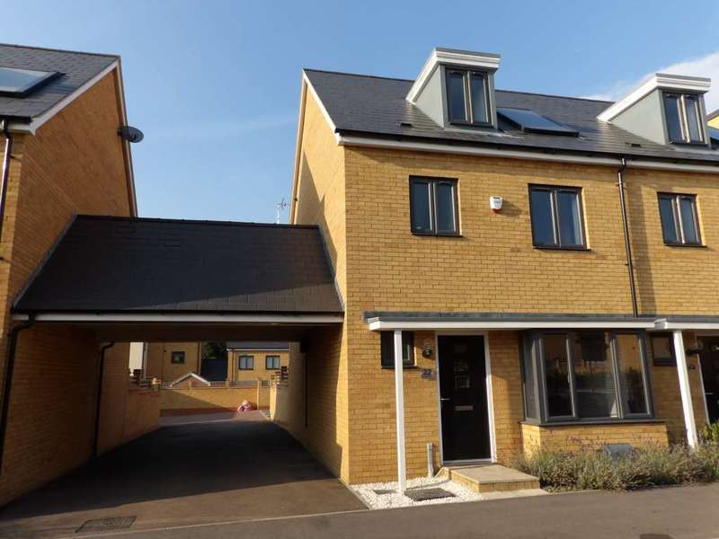 4 Bedrooms Semi Detached House for sale in Wodell Drive, Wolverton