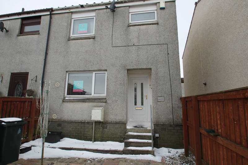3 Bedrooms Terraced House for rent in Canmore Place, Stewarton