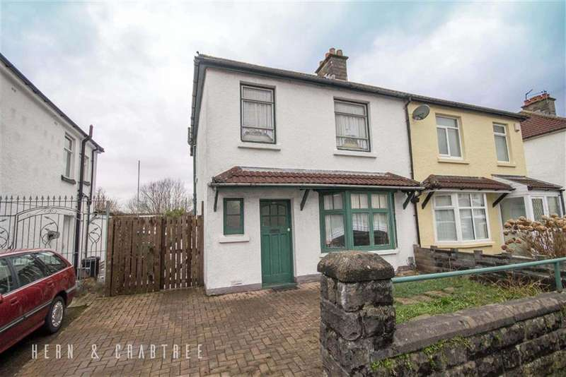 3 Bedrooms Semi Detached House for sale in Fairwater Grove West, Llandaff, Cardiff