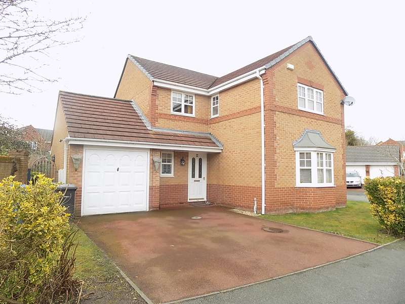 3 Bedrooms Detached House for sale in Claydon Gardens, Rixton, Warrington, WA3