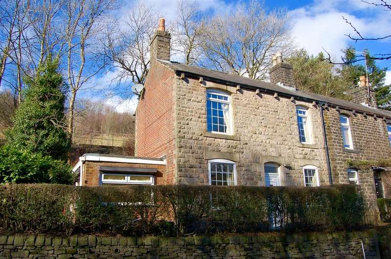 2 Bedrooms End Of Terrace House for sale in Oldham Road, Uppermill, Oldham, OL3 6HY
