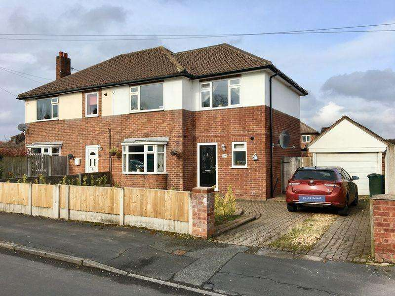 3 Bedrooms Semi Detached House for sale in Toll Bar Road, CH3