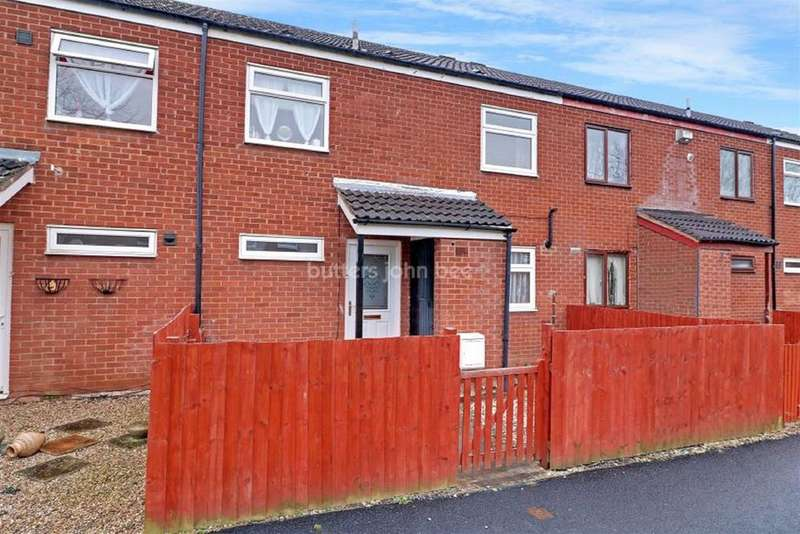 3 Bedrooms Terraced House for sale in Catherton, Stichley, Telford