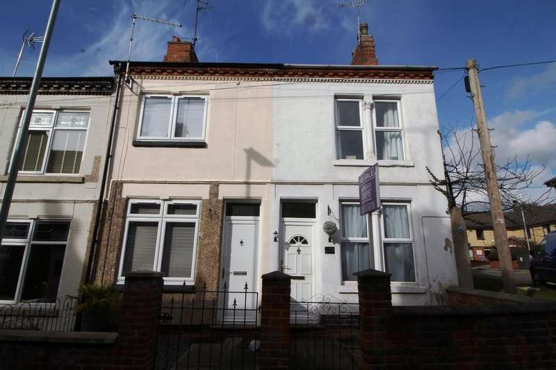 2 Bedrooms End Of Terrace House for sale in The Lant, Shepshed