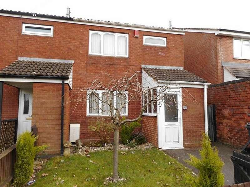 3 Bedrooms End Of Terrace House for sale in Lichfield Road, Shelfield, Walsall