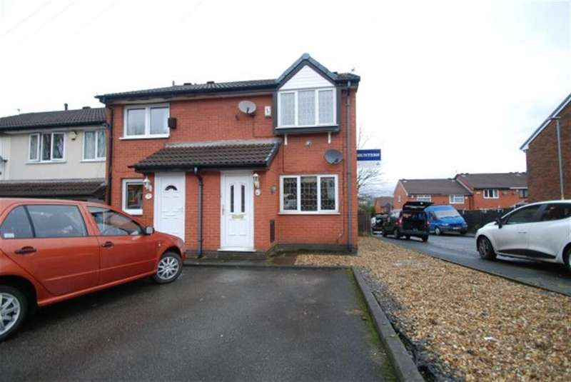 2 Bedrooms End Of Terrace House for sale in St. Marks Street, Dukinfield, Cheshire, SK16 4PH