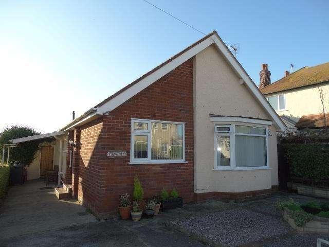 2 Bedrooms Detached Bungalow for sale in Sandilee Hafod Road East, Penrhyn Bay
