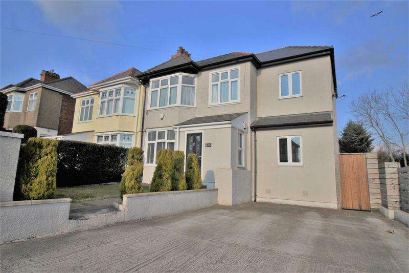 4 Bedrooms Semi Detached House for sale in Gaer Road, Newport