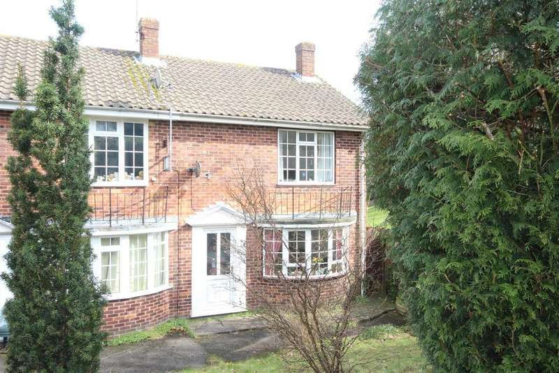 2 Bedrooms Semi Detached House for sale in The Dene, Uckfield