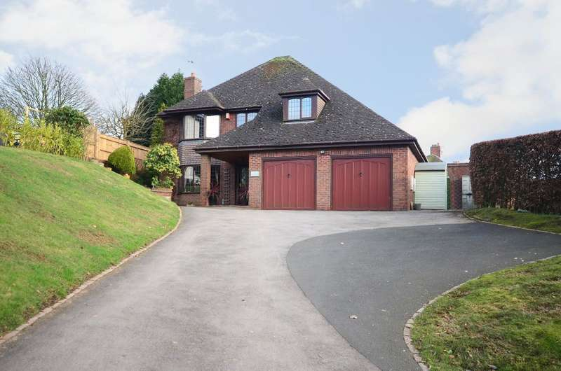 4 Bedrooms Detached House for sale in Windmill Hill, Rough Close, ST3 7PJ