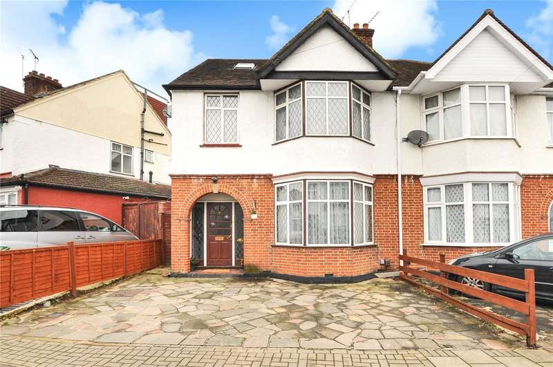 5 Bedrooms Semi Detached House for sale in Nibthwaite Road, Harrow, Middlesex, HA1