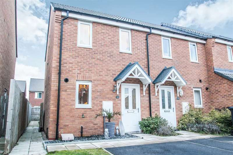 2 Bedrooms Terraced House for sale in Ferrous Way, North Hykeham, Lincoln