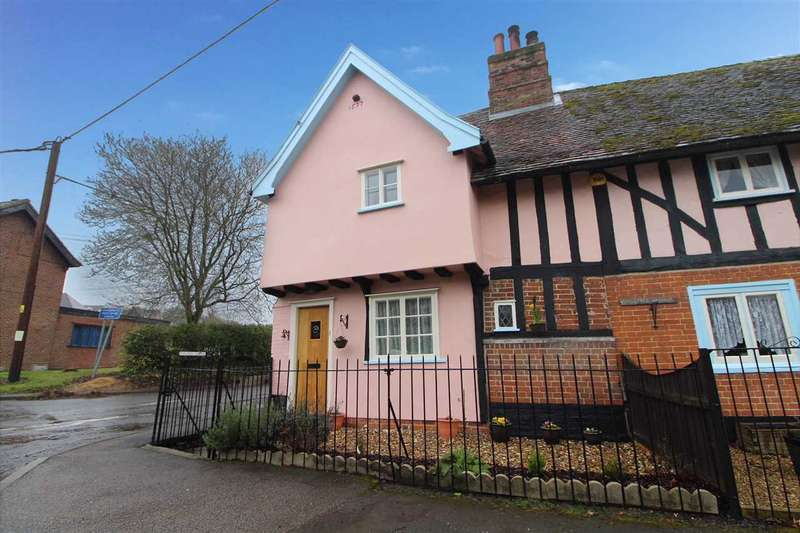 2 Bedrooms Cottage House for sale in The Street, Capel St. Mary, Suffolk