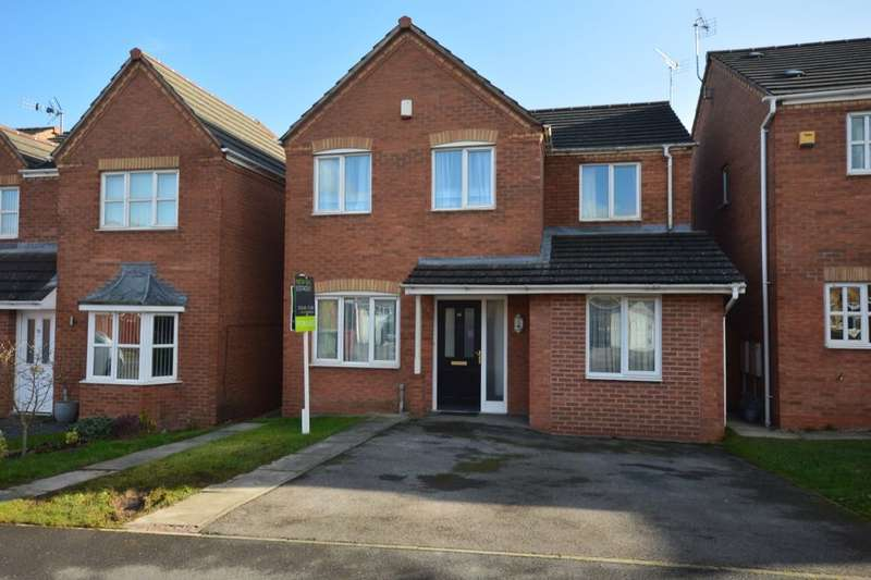 5 Bedrooms Detached House for sale in Bloomery Way, Clay Cross, Chesterfield, S45
