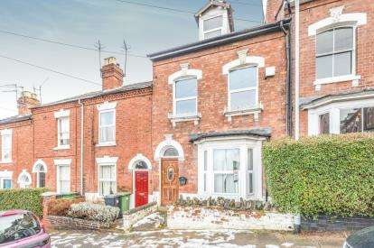 4 Bedrooms Terraced House for sale in Richmond Hill, City Centre, Worcester, Worcestershire