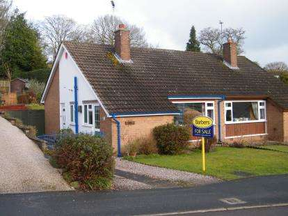 2 Bedrooms Bungalow for sale in Summerhill Gardens, Market Drayton, Shropshire