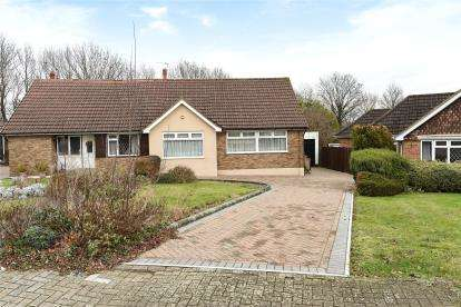 3 Bedrooms Semi Detached Bungalow for sale in Hilborough Way, Farnborough Village