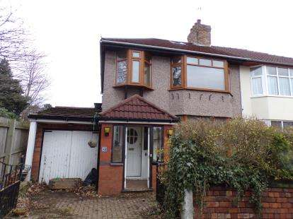 3 Bedrooms Semi Detached House for sale in Dundonald Road, Aigburth, Liverpool, Merseyside, L17