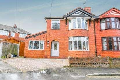 3 Bedrooms Semi Detached House for sale in Roland Avenue, Runcorn, Cheshire, Higher Runcorn, WA7